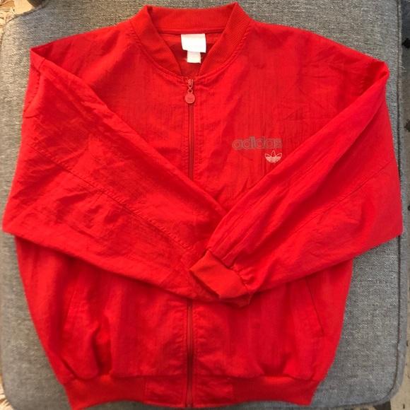 74759405c018a 🌟EUC🌟 Rare 80s/90s Vintage Adidas Bomber jacket.
